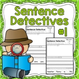 Sentence Detective - Edition 1