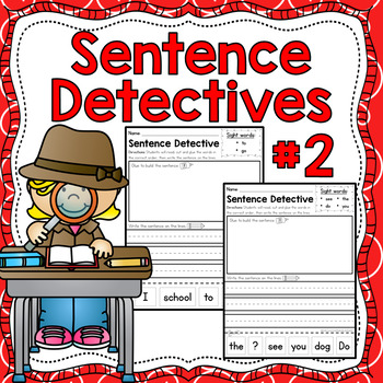 Sentence Detective - Edition 2