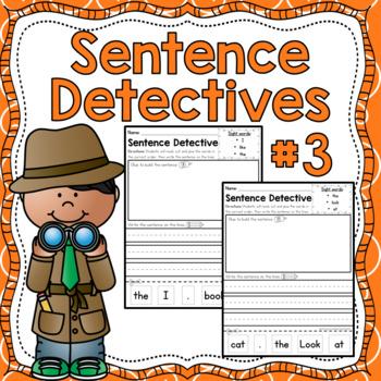 Sentence Detective - Edition 3