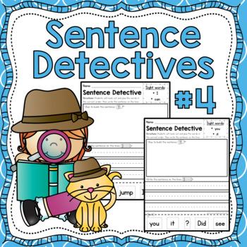 Sentence Detective - Edition 4
