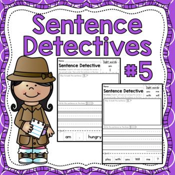 Sentence Detective - Edition 5