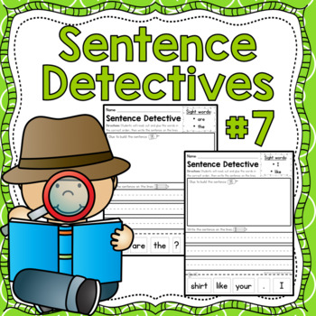 Sentence Detective - Edition 7