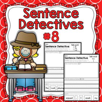 Sentence Detective - Edition 8