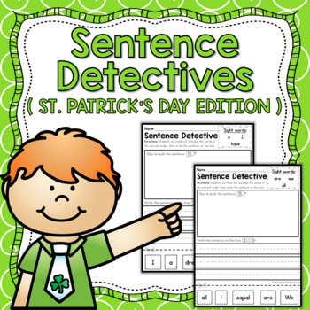 Sentence Detective - St. Patrick's Day Edition