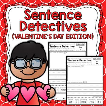 Sentence Detective - Valentine's Day Edition