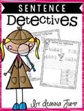 Sentence Detectives: NO PREP Reading and Sight word Fun!