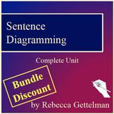Sentence Diagramming Made Simple: Full Unit Bundle: Distan