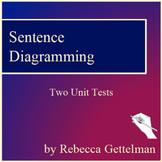 Sentence Diagramming Made Simple: Two Unit Tests and Keys