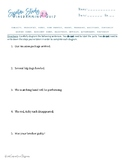Sentence Diagramming Quiz 2: Structure, Parts of Speech, S