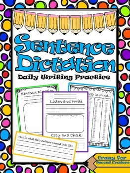 Sentence Dictation