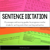 Sentence Dictation: Writing Progress Monitoring and Format