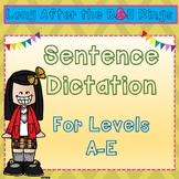 Sentence Dictation for Levels A-E
