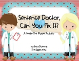 Sentence Doctor--Can You Fix It?