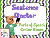 Sentence Doctor - Identifying Parts of a Sentence