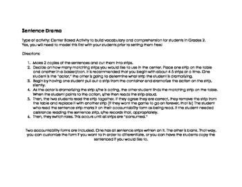 Sentence Drama