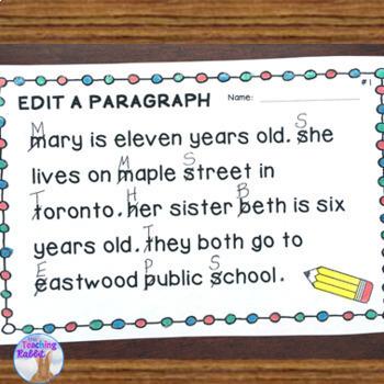 Sentence Editing