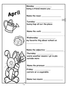 Editing Practice - April