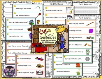 Fix-It Sentences (Sentence Editing)