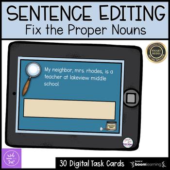 Sentence Editing Proper Nouns