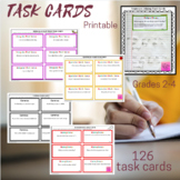 Sentence Editing Task Cards (Distance Learning)