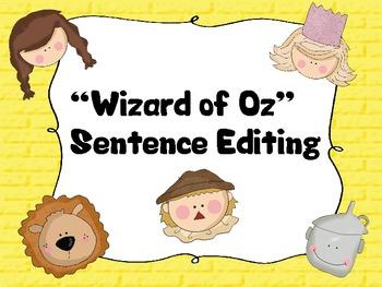 Sentence Editing Wizard of Oz