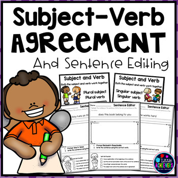 Subject-Verb Agreement Worksheets