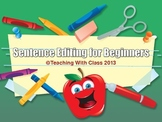 Sentence Editing for Beginners