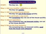 Sentence Expansion SMART Board Lesson & Activity