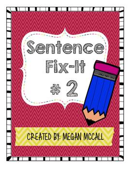 Sentence Fix-It-#2