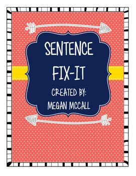 Sentence Fix-It