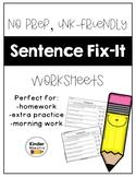 Sentence Fix It