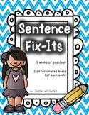 Sentence Fix-Its