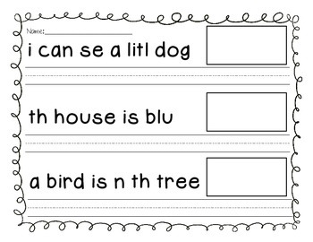 Sentence Fix-Its Freebie!