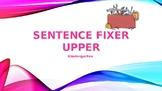 Sentence Fixer Upper