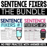 Sentence Fixers Bundle | Digital & Printable | Distance Learning