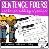 Sentence Fixers Editing Practice