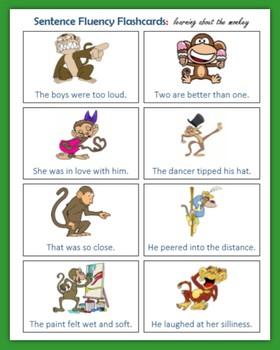 Sentence Fluency (80 Flashcards)