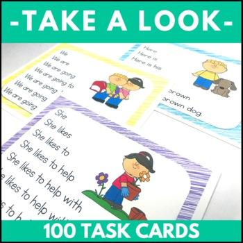 Sentence Fluency Cards