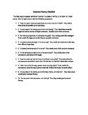 Sentence Fluency Checklist