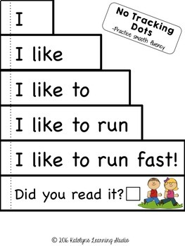 Sentence Reading Fluency Activities