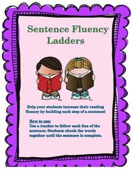 Sentence Fluency Ladders