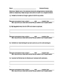 Sentence Fluency Practice