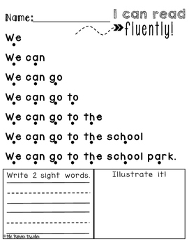 Sentence Fluency {Reading Packet}