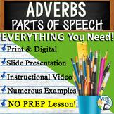 Adverbs Grammar Sentence Fluency Activity GOOGLE Links Les