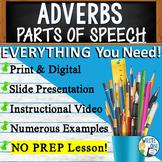 ADVERBS - Sentence Fluency and Grammar in Writing - High School