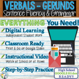 GERUNDS / VERBALS - Sentence Fluency and Grammar in Writin