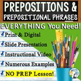 PREPOSITIONS / PREPOSITIONAL PHRASES - Sentence Fluency &