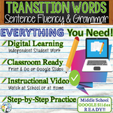 TRANSITIONS / TRANSITIONAL WORDS & PHRASES Sentence Fluenc