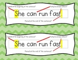 Sentence Formation Cheat Sheet