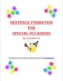 Sentence Formation for Special Occasions